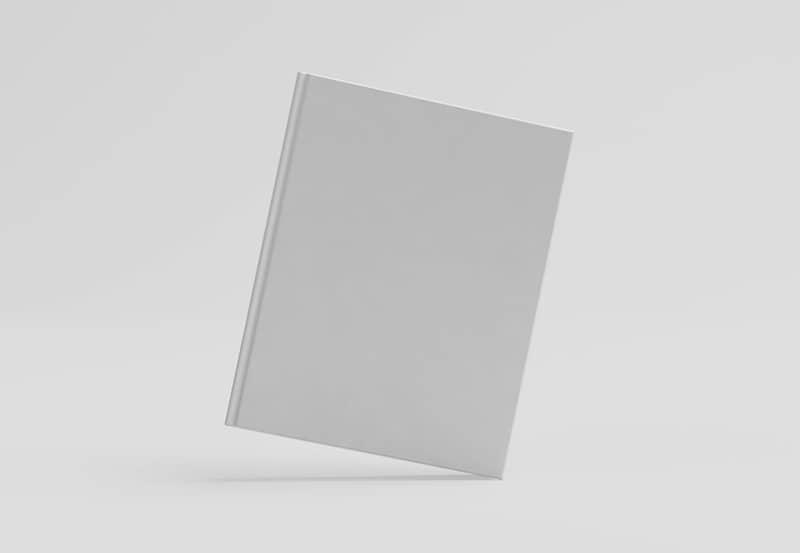 Шаблон обложки книги