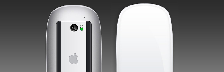 Скачать шаблон Apple Mouse