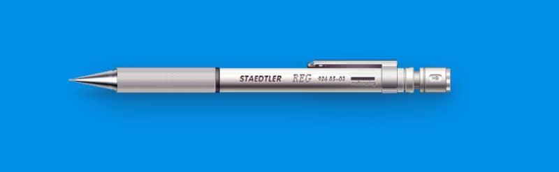 Детализированный шаблон автоматического карандаша
