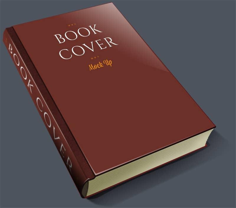 Шаблон книги в рисованной стилистике