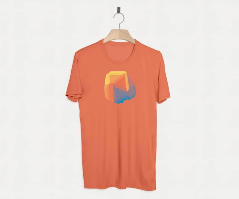 Универсальный шаблон футболки