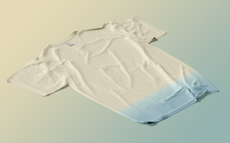 Шаблон футболки по углом