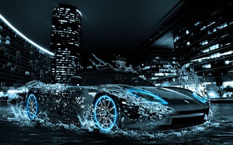 Макет суперкара Koenigsegg