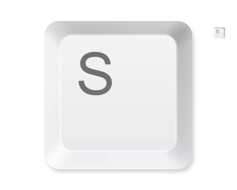 Качественный шаблон клавиатурной клавиши