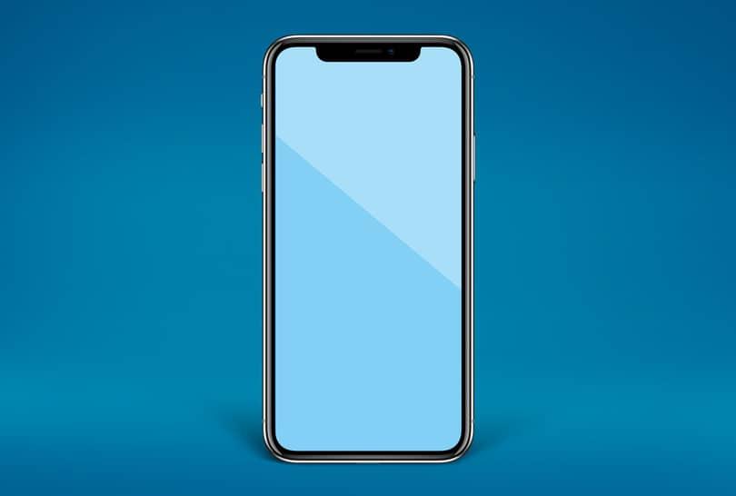 Шаблон iPhone X