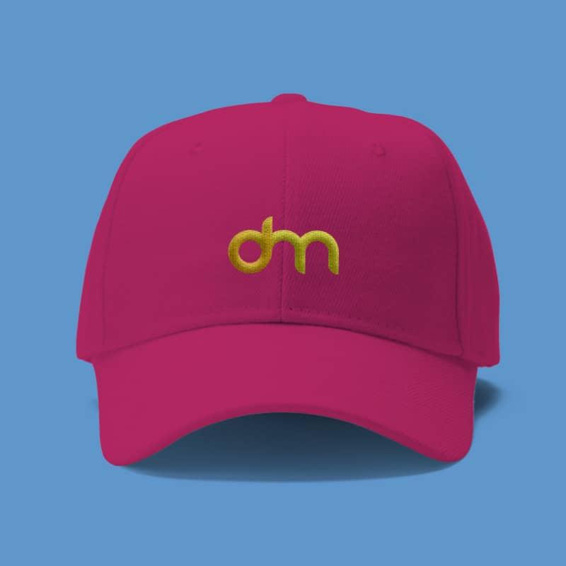Шаблон розовой кепки