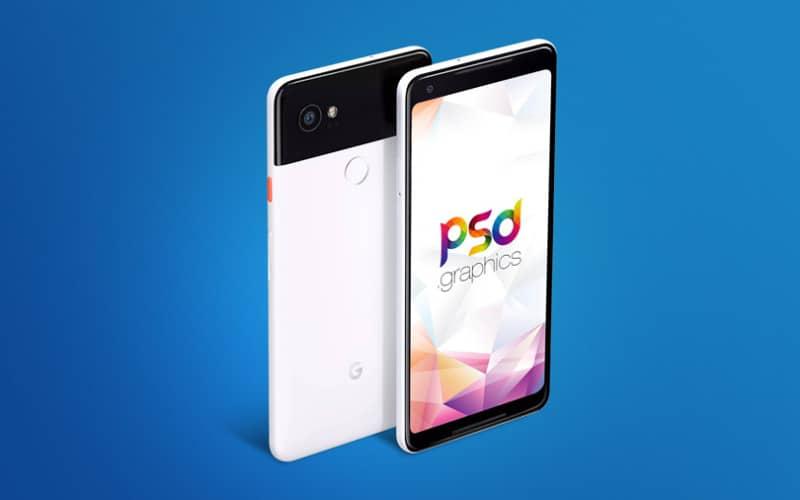 Шаблон Google Pixel 2 XL
