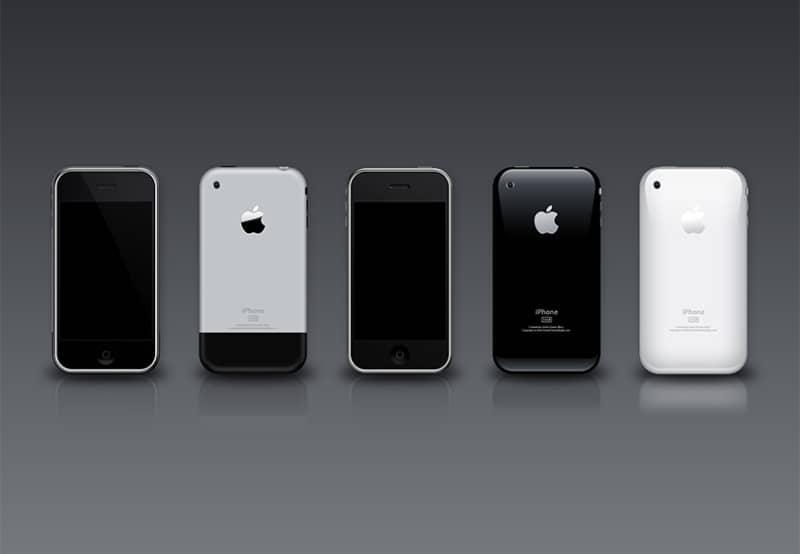 Шаблоны iPhone 3G и 3GS